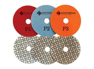 3 Step Quartz Polishing Pads