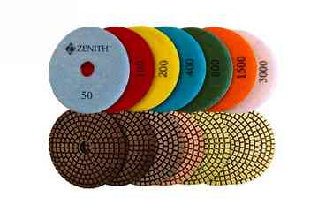 7 Step Wet Diamond Polishing Pads