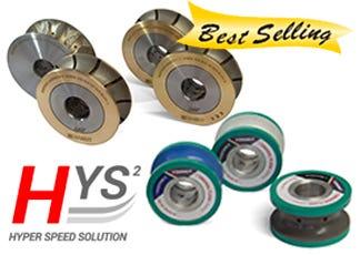 Diamut Hyper Speed CNC Tooling Wheels