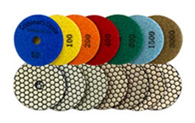 Dry Granite Polishing Pads