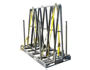 Groves A-Frame Transport & Storage Carts