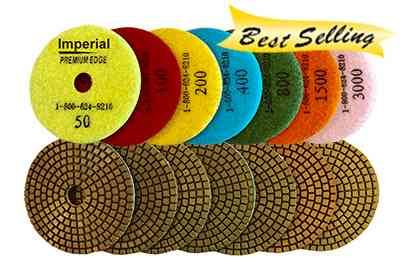 Imperial 7 Step Wet Polishing Pads