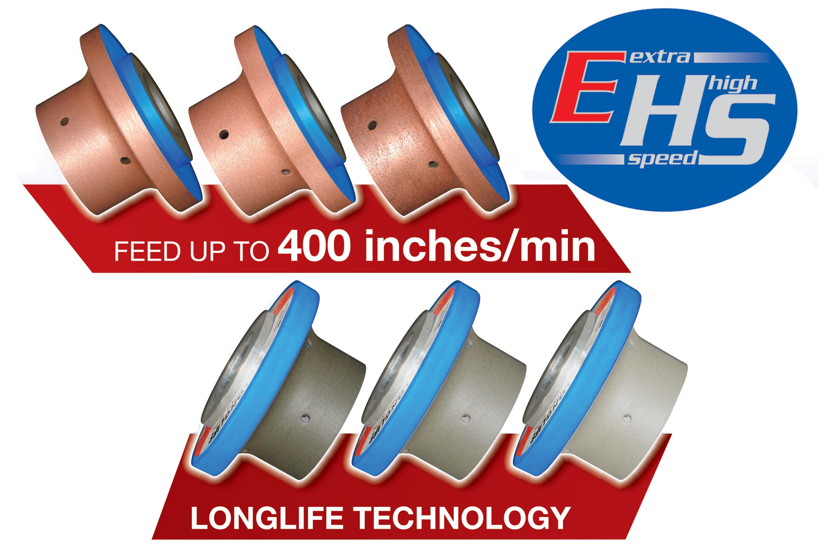 MEM Extra High Speed (EHS) CNC Wheels