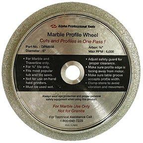 Tile Profiling Wheels