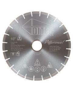 "Diteq M22 Stone & Hard Materials Blade, 14"""