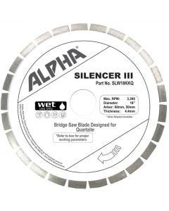"ALPHA SILENCER III 16"" 60/50 QUARTZITE"