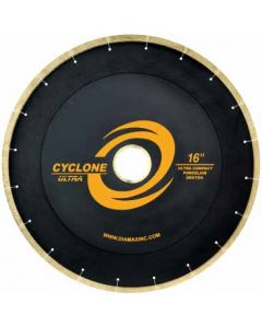 "CYCLONE ULTRA BRIDGE SAW BLADE PORCELAIN/UCS 14"" 50/60 ARBOR"