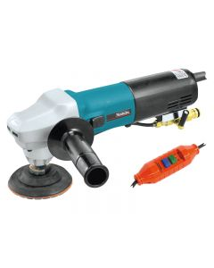 "MAKITA PW5001C, 4"" WATERFED POLISHER, 7.9 AMP"