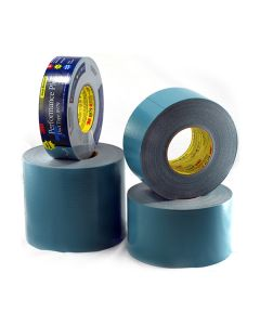 "3M Performance Plus Blue Duct Tape 4"" x 60yd"