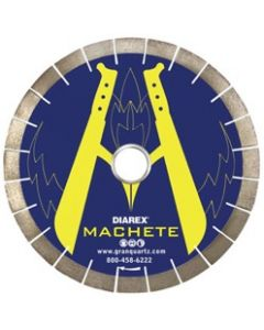 Diarex Machete Bridge Saw Blades, 25mm Seg., 50/60mm Arbor