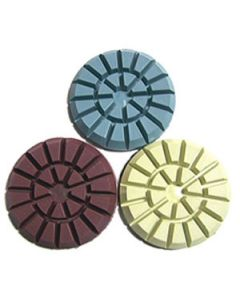 "4"" Wet Concrete Polishing Pads"