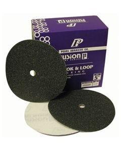 """4"""" Pearl Fusion Silicon Carbide QRS Sandpaper Discs"""
