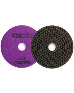 "3"" Diarex Mongoose Resin Bonded Granite Polishing Discs"
