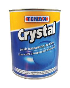 TENAX CRYSTAL WATER CLEAR POLYESTER KNIFE GRADE, 1L