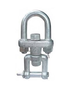 "ABACO SWS02 SWIVEL SHACKLE FOR LIFTER, 3/4"" 3300# CAPACTY"