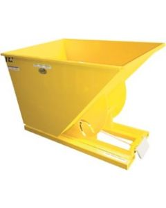 SELF-DUMPING HOPPER D-150-HD 1.5 CU. YARD, 6,000 POUND CAP.