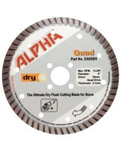 Alpha Quad Dry Cut Blades