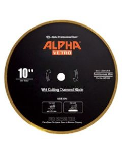 "ALPHA VETRO 7""  BLADE CONTINUOUS RIM FOR GLASS"