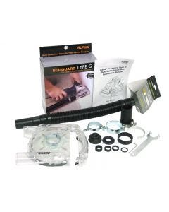 ALPHA ECOGUARD FOR GRINDING TYPE G W/CONNECTOR HOSE KIT