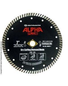 Alpha Plus Turbo Premium Dry Diamond Blades