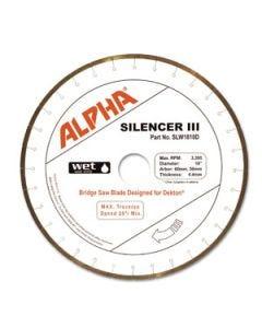 Alpha Silencer III Dekton Blades