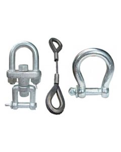 Abaco Swivle, Bow Shackles & Wire Sling
