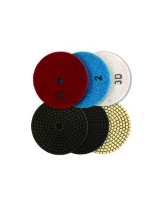 Craftsman's Choice 3 Step Dry Polishing Pads
