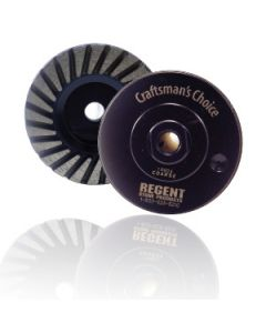 "Craftsman's Choice 4"" Turbo Cup Wheel"