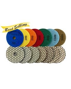 Craftsman's Choice Superflex Dry Polishing Pads