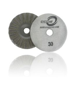 Cyclone V2 Hook & Loop Grinders