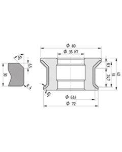 Diamut EFR B8 R4 CNC