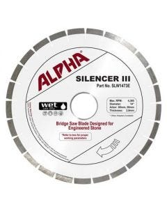 Alpha Silencer III Engineered Stone Blade