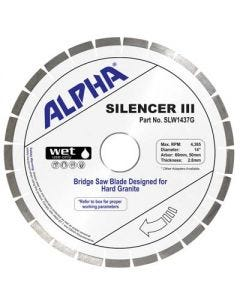 Alpha Silencer III Granite Blades