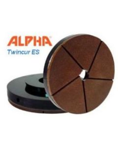 "Alpha Twincur ES 6"" #200 Polishing Disc**"