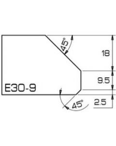 E30-9  B18 closed 99mm
