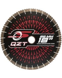 CYCLONE QZT BRIDGE SAW BLADE FOR QUARTZITE 18""