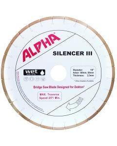 """ALPHA SILENCER III 14"""" 50/60 DEKTON"""
