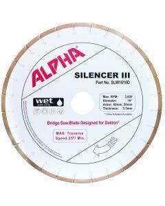 """ALPHA SILENCER III 16"""" 50/60 DEKTON"""