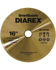 """DIAREX CONTINUOUS BLADE 16"""" X   .125"""" X 10MM X 50/60MM ARBOR"""