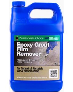 Miracle Sealants Epoxy Grout Film Remover  Gallon