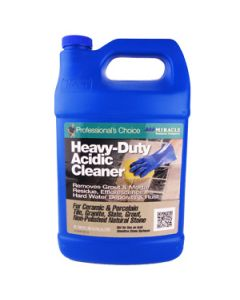 Miracle Sealants Heavy Duty Acidic Cleaner, Gallon