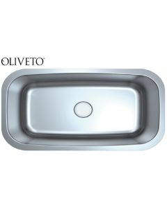 OLIVETO STAINLESS STEEL SINK  18G LRG SINGLEBOWL 31X17X9